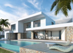 3 bedroom villa in Moraira with sea views by Geosem