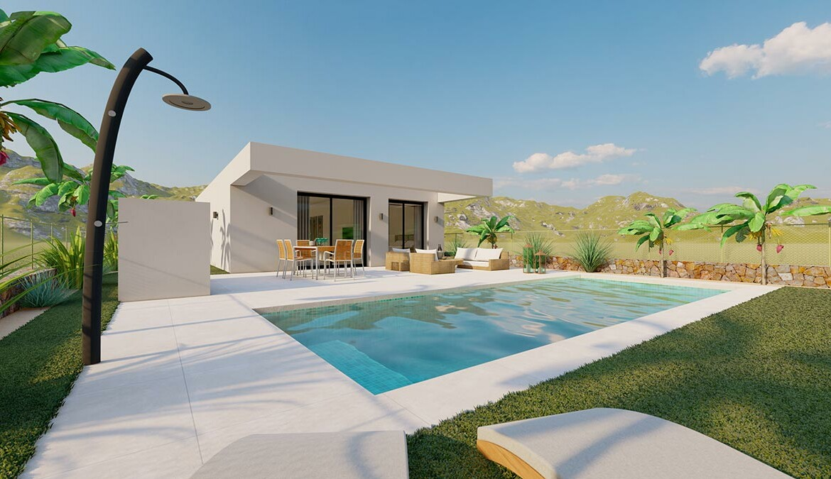 3 bedroom one level villa on Los Montesinos by Geosem - Alicante - Costa blanca - Torrevieja - Spain